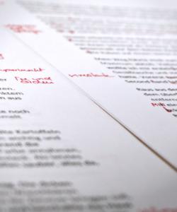 korrektur papier